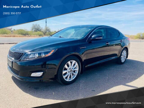 2015 Kia Optima for sale at Maricopa Auto Outlet in Maricopa AZ