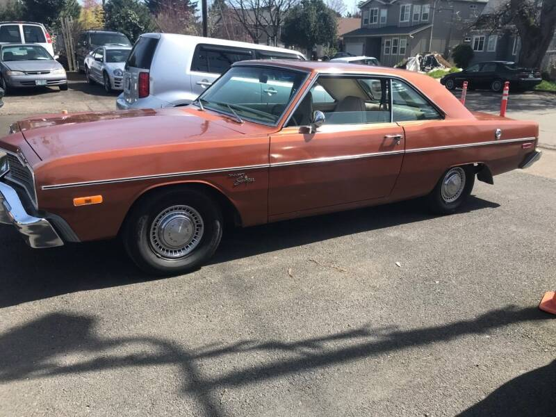 1974 Dodge Dart for sale at Chuck Wise Motors in Portland OR