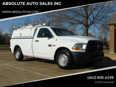 2012 RAM Ram Pickup 2500 for sale at ABSOLUTE AUTO SALES INC in Corinth MS