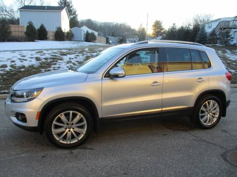 2014 Volkswagen Tiguan for sale at Electra Auto Sales in Johnston RI