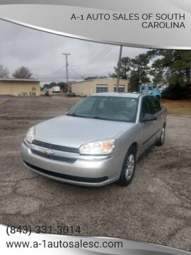 2005 Chevrolet Malibu for sale at A-1 Auto Sales Of South Carolina in Conway SC