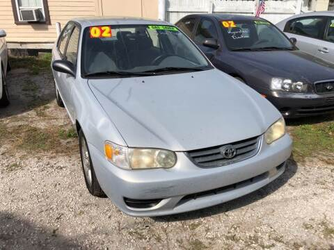 2002 Toyota Corolla for sale at Castagna Auto Sales LLC in Saint Augustine FL
