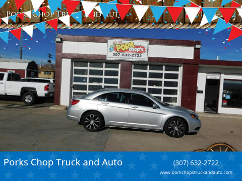 2012 Chrysler 200 for sale at Porks Chop Truck and Auto in Cheyenne WY