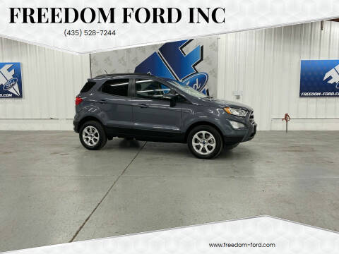 2018 Ford EcoSport for sale at Freedom Ford Inc in Gunnison UT