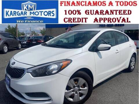 2015 Kia Forte for sale at Kargar Motors of Manassas in Manassas VA