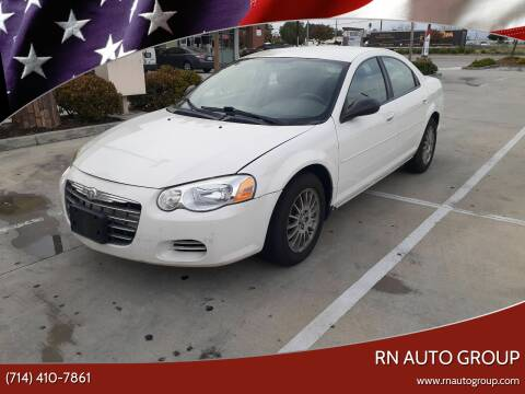 2006 Chrysler Sebring for sale at RN AUTO GROUP in San Bernardino CA