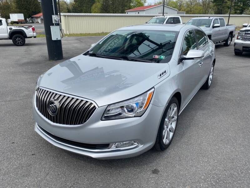 2016 Buick LaCrosse for sale at Alexandria Auto Mart LLC in Alexandria PA