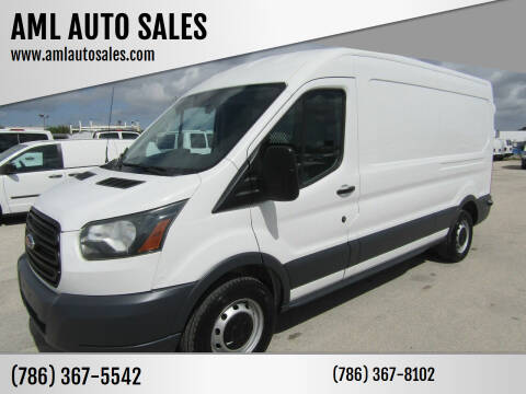 2015 Ford Transit Cargo for sale at AML AUTO SALES - Cargo Vans in Opa-Locka FL