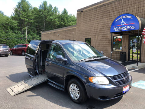 2007 Dodge Grand Caravan for sale at New England Motor Car Company in Hudson NH