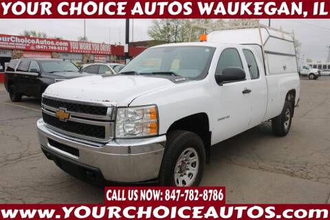 2013 Chevrolet Silverado 2500HD for sale at Your Choice Autos - Waukegan in Waukegan IL