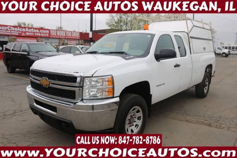 2013 Chevrolet Silverado 2500HD for sale at Your Choice Autos - Waukegan in Waukegan IL