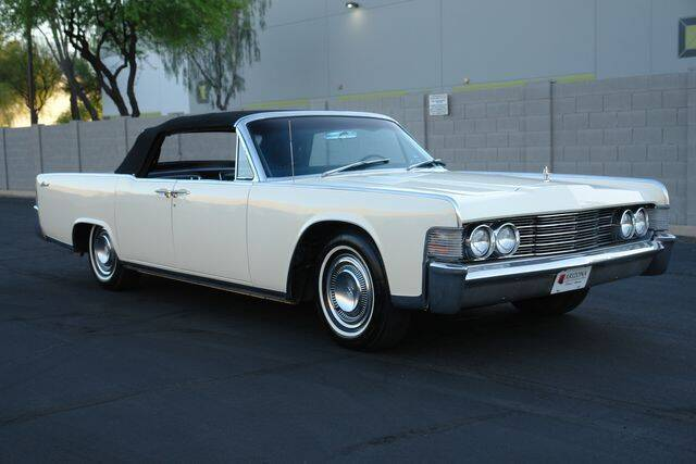 1965 Lincoln Continential for sale at Arizona Classic Car Sales in Phoenix AZ