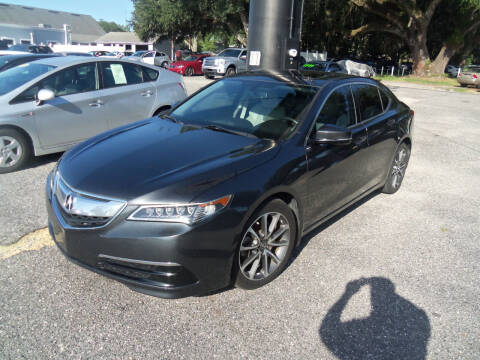 2015 Acura TLX for sale at ORANGE PARK AUTO in Jacksonville FL