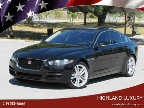 2017 Jaguar XE for sale at Highland Luxury in Highland IN