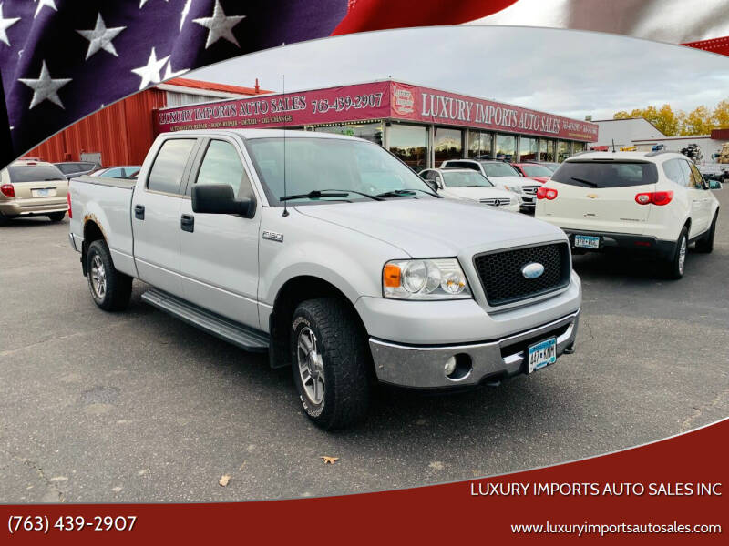 2006 Ford F-150 for sale at LUXURY IMPORTS AUTO SALES INC in North Branch MN