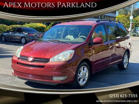 2005 Toyota Sienna for sale at Apex Motors Parkland in Tacoma WA