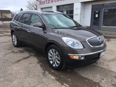 2012 Buick Enclave for sale at Northwest Auto Sales & Service Inc. in Meeker CO