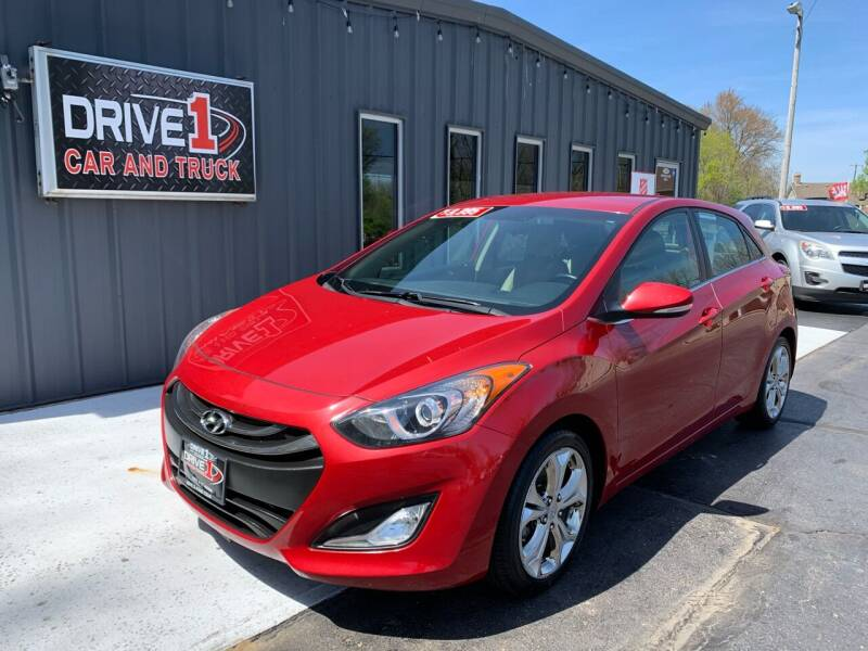2014 Hyundai Elantra GT for sale at Drive 1 Car & Truck in Springfield OH