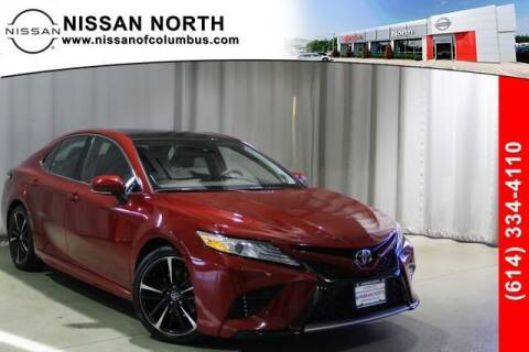 2020 Toyota Camry for sale at Auto Center of Columbus in Columbus OH