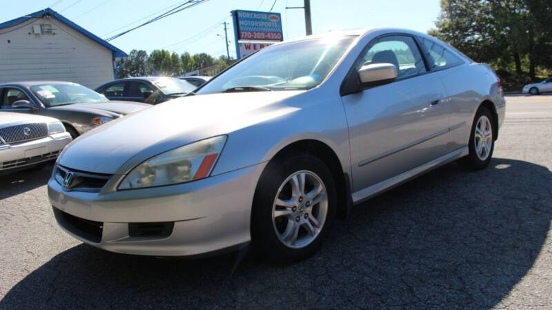 2006 Honda Accord for sale at NORCROSS MOTORSPORTS in Norcross GA