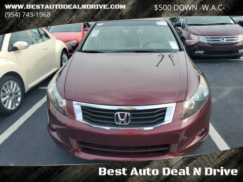2008 Honda Accord for sale at Best Auto Deal N Drive in Hollywood FL