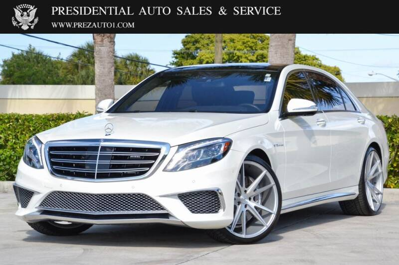 2017 Mercedes-Benz S-Class for sale at Presidential Auto  Sales & Service in Delray Beach FL