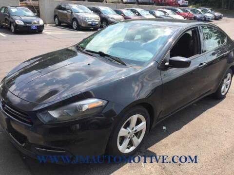 2015 Dodge Dart for sale at J & M Automotive in Naugatuck CT