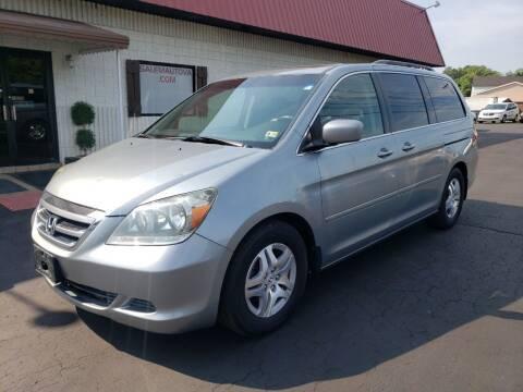 2007 Honda Odyssey for sale at Salem Auto Sales in Salem VA
