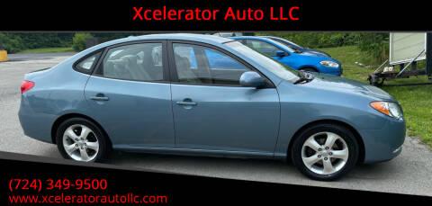 2007 Hyundai Elantra for sale at Xcelerator Auto LLC in Indiana PA