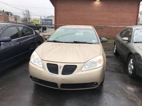 2007 Pontiac G6 for sale at Chambers Auto Sales LLC in Trenton NJ