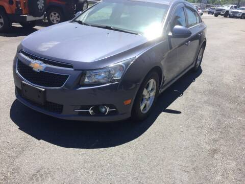 2014 Chevrolet Cruze for sale at 222 Newbury Motors in Peabody MA