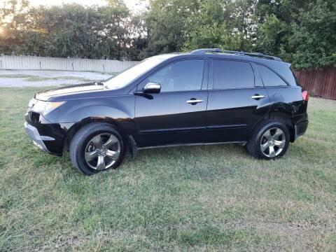2008 Acura MDX for sale at El Jasho Motors in Grand Prairie TX