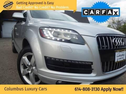 2012 Audi Q7 for sale at Columbus Luxury Cars in Columbus OH