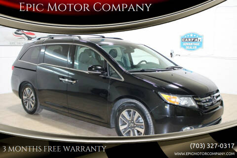 2014 Honda Odyssey for sale at Epic Motor Company in Chantilly VA
