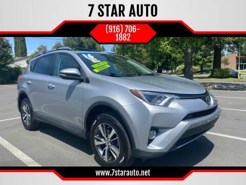 2016 Toyota RAV4 for sale at 7 STAR AUTO in Sacramento CA