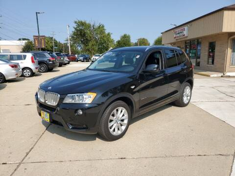 2013 BMW X3 for sale at Bob Waterson Motorsports in South Elgin IL