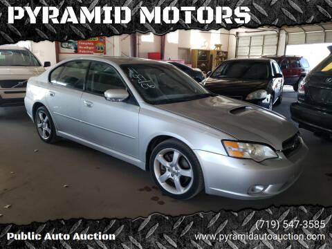2006 Subaru Legacy for sale at PYRAMID MOTORS - Pueblo Lot in Pueblo CO