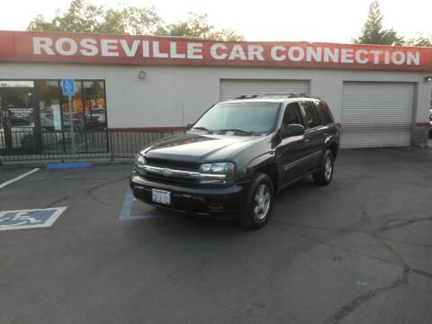 2004 Chevrolet TrailBlazer for sale at ROSEVILLE CAR CONNECTION in Roseville CA