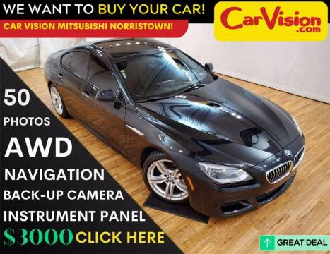 2015 BMW 6 Series for sale at Car Vision Mitsubishi Norristown in Trooper PA