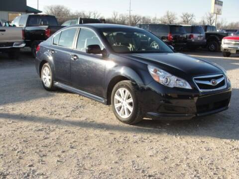 2012 Subaru Legacy for sale at Frieling Auto Sales in Manhattan KS