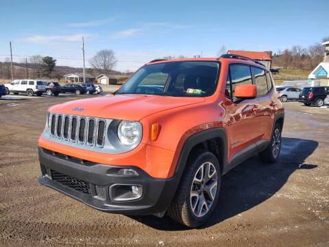 2015 Jeep Renegade for sale at G & H Automotive in Mount Pleasant PA