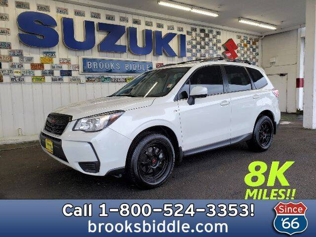 2018 Subaru Forester for sale at BROOKS BIDDLE AUTOMOTIVE in Bothell WA