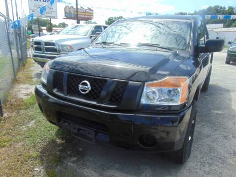 2015 Nissan Titan for sale at Payday Motor Sales in Lakeland FL