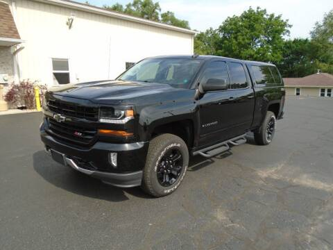 2017 Chevrolet Silverado 1500 for sale at Ritchie Auto Sales in Middlebury IN