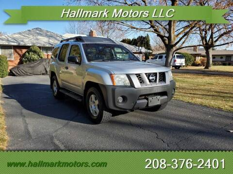 2008 Nissan Xterra for sale at HALLMARK MOTORS LLC in Boise ID