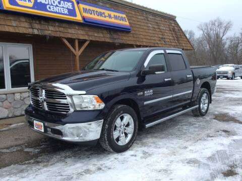 2016 RAM Ram Pickup 1500 for sale at MOTORS N MORE in Brainerd MN