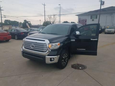 2015 Toyota Tundra for sale at Kenosha Auto Outlet LLC in Kenosha WI