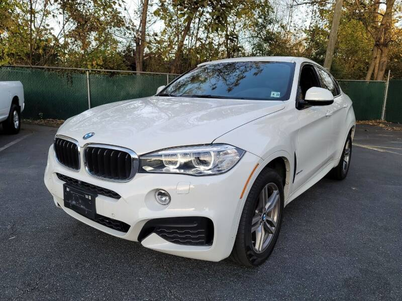 2017 BMW X6 for sale at AW Auto & Truck Wholesalers  Inc. in Hasbrouck Heights NJ