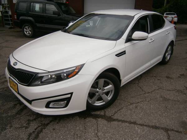 2015 Kia Optima for sale at WESTSIDE AUTOMART INC in Cleveland OH