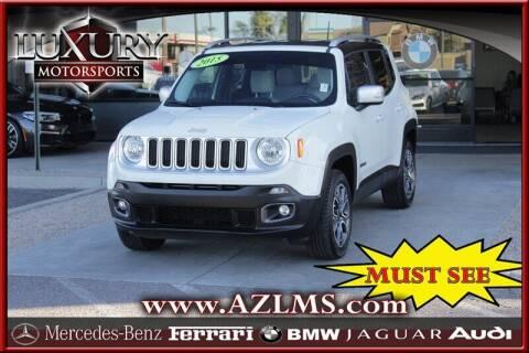2015 Jeep Renegade for sale at Luxury Motorsports in Phoenix AZ